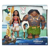 中亚prime会员:Disney 迪士尼 海洋奇缘 莫阿娜+毛伊人物 玩偶组合+Funko POP 莫阿娜 钥匙链