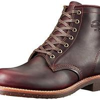需VISA卡:CHIPPEWA Original Chippewa Collection 6-Inch Service Utility 男款高帮靴