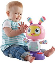 Fisher-Price 费雪 Bright Beats Dance & Move BeatBo 益智跳舞机器人玩具 粉色