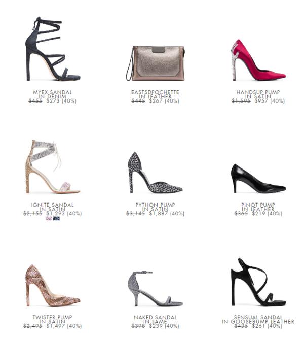 STUART WEITZMAN美国官网 精选女鞋、包袋促销专场