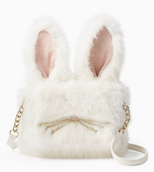 kate spade NEW YORK make magic rabbit shoulder bag 女士单肩包