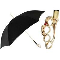 Pasotti Women Luxury Brass Knuckle handle Umbrella