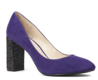 FRANKE PUMPS WITH GLITTER HEELS