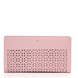 kate spade NEW YORK Cedar Street Perf Stacy 女士长款钱包