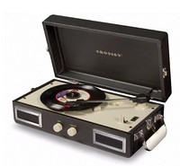 CROSLEY CR40 Mini Turntable 黑胶唱机