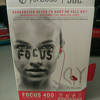 Yurbuds Focus 400 In-Ear Headphones专业运动耳机