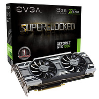 EVGA GTX1070 8G SC ACX 3.0 White LED显卡