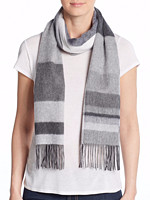 SAKS OFF 5TH Cashmere Scarf 羊绒围巾