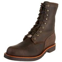 限8EE码:CHIPPEWA Rugged Handcrafted 男款工装靴