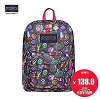 JanSport SuperBreak 叛逆双肩书包背包T501 0AF