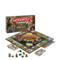 限中亚Prime会员:Monopoly 大富翁 魔兽世界特别版桌游