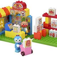 BANDAI 万代  BlockLabo 面包超人Pinocchio 超市场景 桶装积木