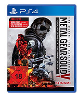 《Metal Gear Solid V:The Definitive Experience(合金装备5:终极体验版)》PS4 光盘版游戏