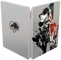 《Metal Gear Solid V: The Phantom Pain - Steelbook Edition(合金装备5:幻痛)》X1 铁盒光盘版游戏