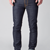 Nudie Jeans THIN FINN DRY TIGHT BROKEN 11OZ 男士牛仔裤 356元包直邮中国