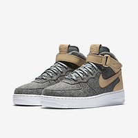NIKE 耐克 AIR FORCE 1 '07 MID LTHR PREM 女子运动鞋
