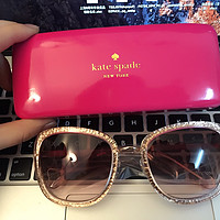kate spade女士太阳镜Scottie Glitter Square Frame