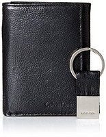 Calvin Klein Pebble Leather Slim Trifold 男士真皮钱包