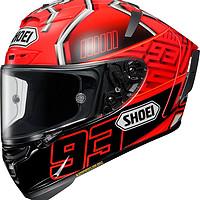 SHOEI X-Fourteen MARQUEZ4  TC-1 全覆式头盔 红蚂蚁 XL