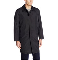 Perry Ellis Poly Bonded Raincoat With Zip Out Liner 男士风衣