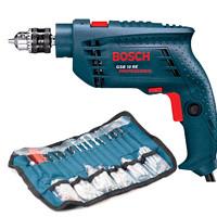 BOSCH 博世 GSB10RE 10毫米冲击钻套装 含100件附件(0601216186)