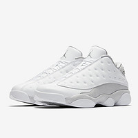 "再次发售:AIR JORDAN XIII Low ""Pure Platinum"" 男款篮球鞋"