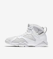 "AIR JORDAN 7 Retro ""Pure Platinum"" 男款篮球鞋"