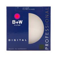B+W 77mm PRO UV 铜圈单层镀膜 UV 滤镜