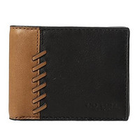 COACH 蔻驰 Rip and Repair Slim Billfold 男士真皮钱包