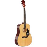 历史新低:Fender 芬德 Classic Design系列 CD-60 民谣吉他 原木色  +凑单品