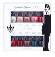 OPI 指甲油 Breakfast at Tiffany's 蒂凡尼的早餐 十色套装 3.75ml*10瓶