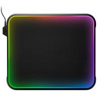 10点开始:steelseries 赛睿 QcK Prism 全彩RGB灯光效果