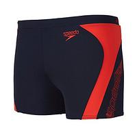 中亚PrimeDay:Speedo 速比涛  51214827  Monogram Graphic Splice Aquashort 男式平角泳裤
