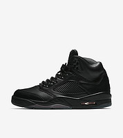 "AIR JORDAN V Retro PREMIUM ""Triple Black"" 男子篮球鞋"