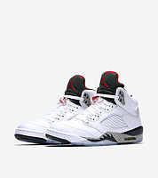 "AIR JORDAN 5 Retro ""White Cement"" 篮球鞋"