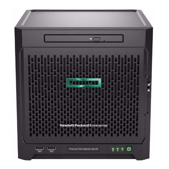 HP 惠普 ProLiant MicroServer Gen10 873830-424 服务器(X3216 8GB)