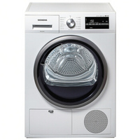 千元赠品、历史新低:SIEMENS 西门子 WT46G4000W 干衣机 8公斤