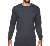 UNDER ARMOUR 安德玛 Rival Fleece Solid Fitted Crew 男款运动卫衣