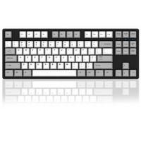 Akko 艾酷 Ducky One 87 PBT 热升华版本 机械键盘 红轴