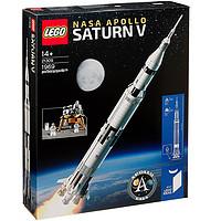 88VIP : LEGO 乐高 21309 阿波罗土星五号运载火箭 176粒小颗粒