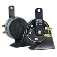 DENSO 電裝 蝸牛雙插喇叭 272000-8650 汽車喇叭 黑色 印尼制造 *2件