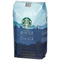 STARBUCKS 星巴克 冬季限定 中度烘焙咖啡豆 1.13kg