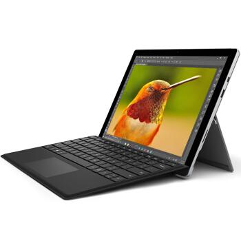 【黑色键盘套装】Microsoft 微软 Surface Pro 4 二合一平板电脑
