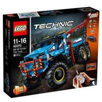 LEGO 乐高 机械组 6x6全地形卡车 42070