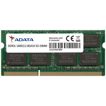 威刚(ADATA) DDR3L 1600频 低电压笔记本内存
