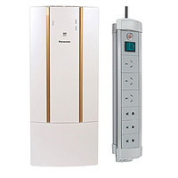 Panasonic 松下 FV-RZ06W1 新风系统套装 + Brennenstuhl 6路插座