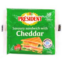 President 总统 三明治专用奶酪片 200g
