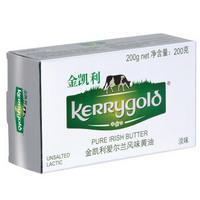 KERRYGOLD 金凯利 爱尔兰风味 淡味黄油 200g *4件