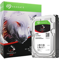 SEAGATE 希捷 酷狼系列 SATA3 机械硬盘 256M 7200 8T