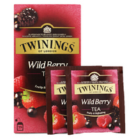 TWININGS 川宁 综合野莓果香红茶茶包 50g 25包 *3件